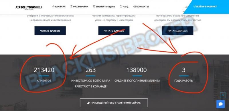 Airsolutions.club отзывы о МОШЕННИКАХ!