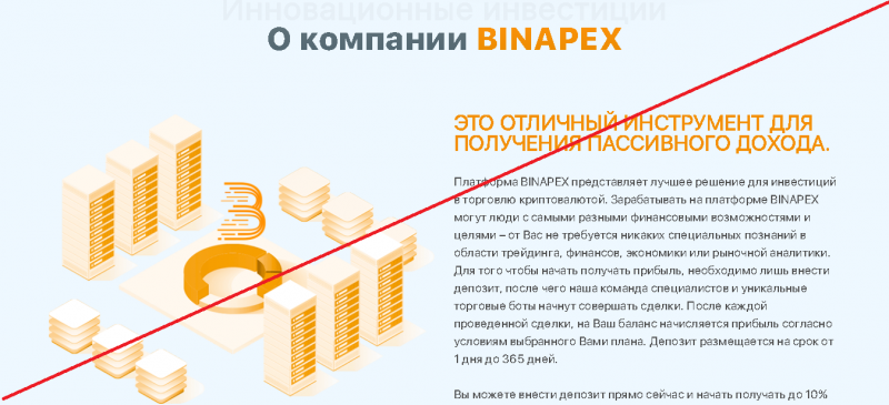 BINAPEX – обзор. Отзывы о binapex.ltd