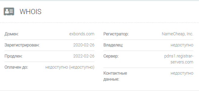 Exbonds – отзывы