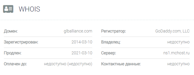 Global Alliance – отзывы