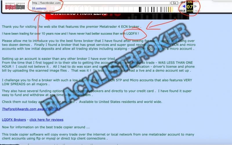 [ЛОХОТРОН] FxEcNbRoker.com отзывы и обзор