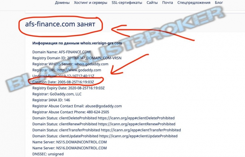 AFS Finance отзывы и обзор брокера Afs-finance.com