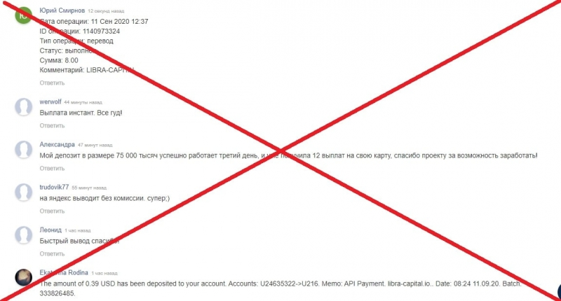 Libra Capital (libra-capital.io) — отзывы и проверка. Обман? - Seoseed.ru