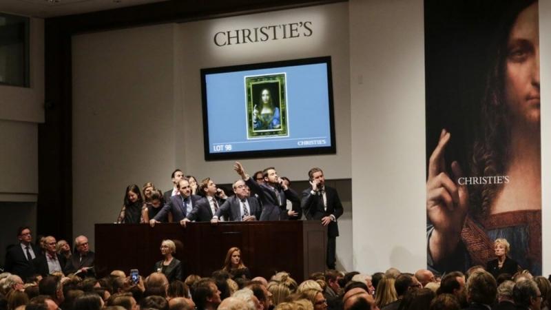 Аукционный дом Christie's впервые продаёт цифровое произведение искусства на блокчейне
