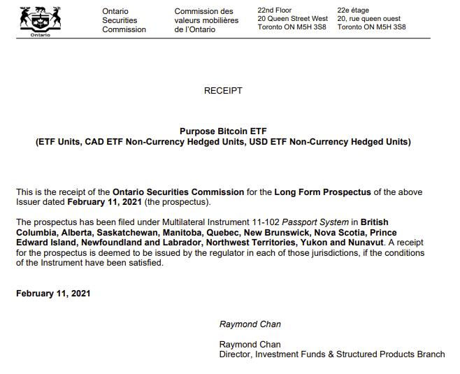 Канадские регуляторы одобрили первый ETF на Биткоин. Почему это важно для криптовалютной индустрии?