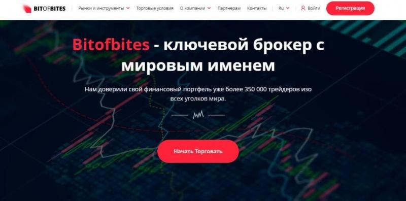 Отзывы о Bitofbites: новый брокер от опытных мошенников