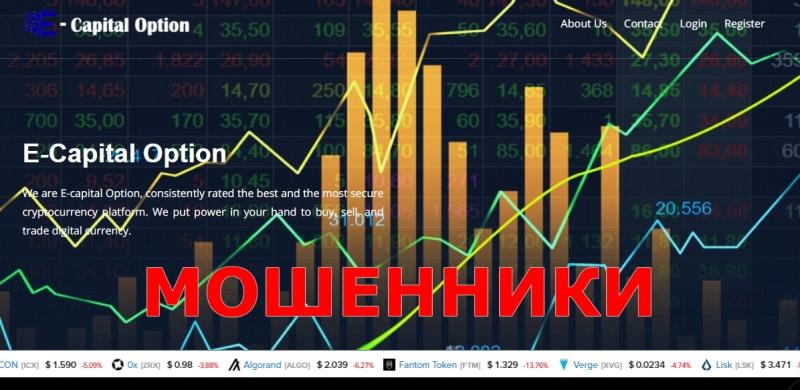 E-capital Option — отзывы о брокере e-capitaloption.com