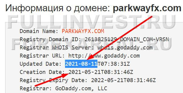 Forex — развод Parkway FX Limited? Очередной заморский лохотрон?