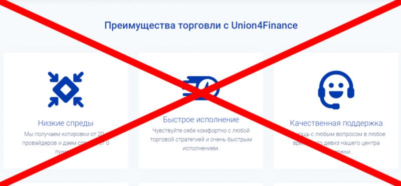 Union4Finance (юнион финанс) отзывы